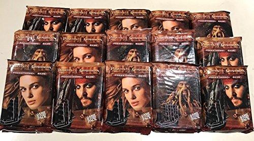 15 Packs X Pirates of the Caribbean Pocketmodel Game Packs