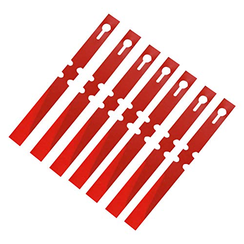 100pcs Plant Tree Labels Tags Set, Garden Tags Blank Garden Markers Reusable Hanging Tree Tag, Plastic Waterproof Hanging Tree Tags Markers for Plants Nursery Garden Seed Vegetable Flower(Red)