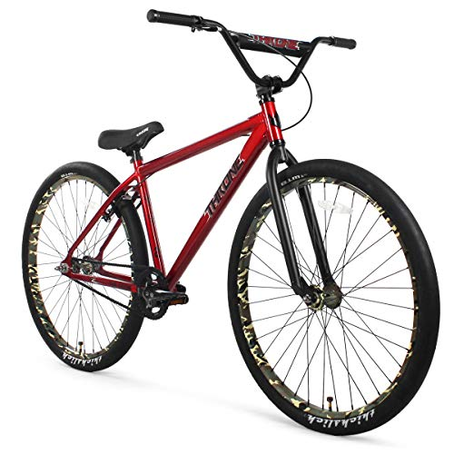 Buy Cheap THRONE CYCLES The Goon 29 BMX Bike (Red Camo)