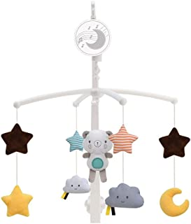 Konig Kids Wind-Up Baby Musical Crib Mobile, Bear