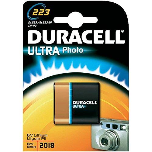 Duracell - Pila especial para cámaras fotográficas - 223