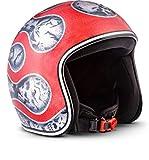 MOTO Helmets D33 chiusura rapida Casco semi-integrale per moto