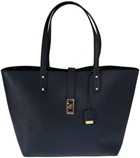 Michael Kors Karson LG Carryall Tote Leather NAVY