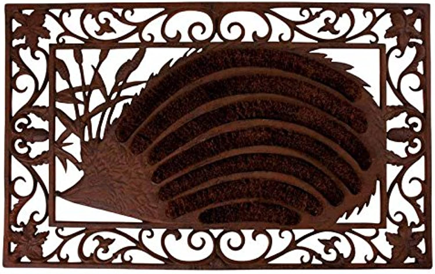 Esschert Design LH65 Cast Iron Hedgehog Doormat