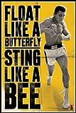 Poster Ali Mohamed Float Like Butterfly, 61 x 91 cm)