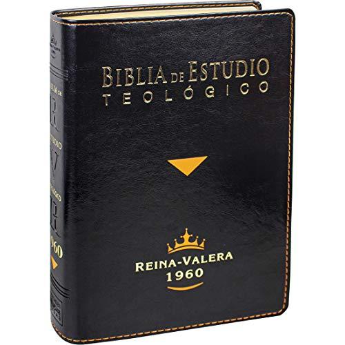 Compare Textbook Prices for Biblia de Estudio Teológico Reina Valera 1960 Piel Fabricada Negro con Index Spanish Edition 1st Edition ISBN 7899938410950 by Reina Valera 1960,United Bible Societies