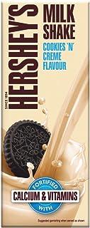 HERSHEY'S Milkshake Cookies N Crème, 180ml - Pack of 6, 6 X 180 ml