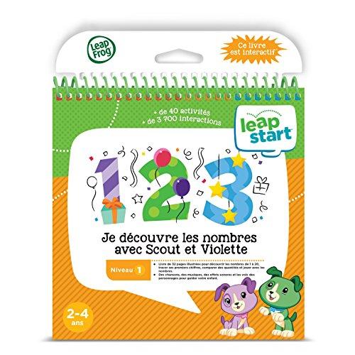LeapFrog LeapStart 3D Preshool Activity Book (Level 1): Je découvre Les Nombres Avec Scout et Violette - Mathematics - French Version