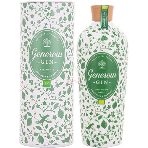 Generous Green Organic Gin CORIANDER & COMBAVA 44,00% 0,70 Liter