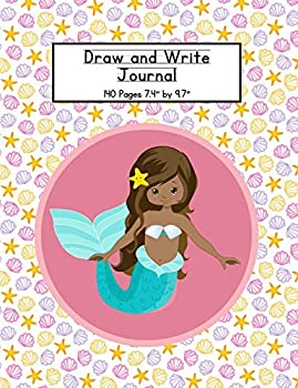 Draw and Write Journal: Mermaid Writing Composition Book for Kids