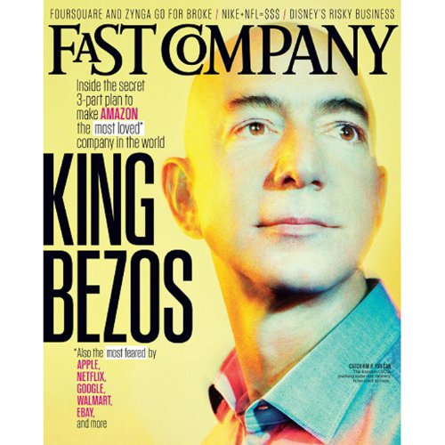 Audible Fast Company, September 2013 cover art