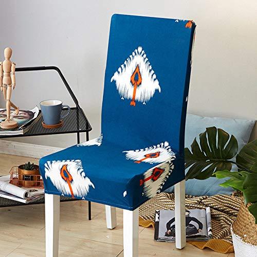 ShiyueNB Giraffe stretch stoelhoezen, elastische eetkamerstoelhoezen, universele hoezen voor restaurant, hotel, decoratieve universal Lansimo