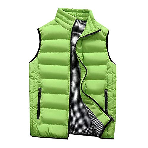 LISTHA Padded Cotton Vest Mens Winter Hooded Coat Sleeveless Jacket Thick Warm