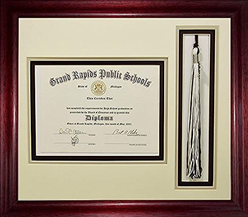 High School Graduation Certificate Document with Max Max 51% OFF 71% OFF Open 6x8 Tassel
