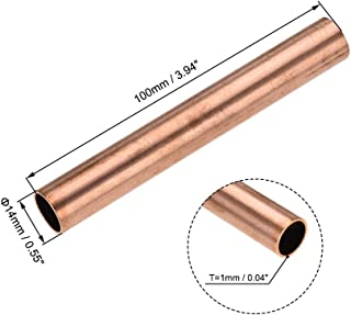 Used For Cooling And Heating Tools Generator Copper Tube-cable Switch Equipment-DIY-outer Diameter /× Thickness BTCS-X Soft T2 Copper Tube Outer Diameter 2-22mm Thickness 0.5-1.2mm