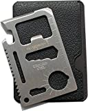 Guardman 11 in 1 Beer Opener Survival Credit Card Tool Fits Perfect in Your Wallet (1) Stocking Stuffers for Men Christmas Gifts Under 10 Dollars