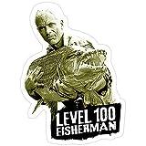 B. Strange Mall Jeremy Wade - Level 100 Fisherman Stickers (3 Pcs/Pack)