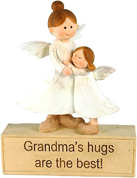 StealStreet KTE 762 6 Angels Grandma S Hugs Are The Best Figurine White