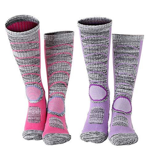 Diealles Chaussettes de Ski Thermiques et...