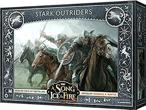 clásico atemporal CoolMiniOrNot CMNSIF102 Thrones A Song Song Song of Ice and Fire Miniatures Game  Stark Outriders Expansion, Multi Colour  perfecto