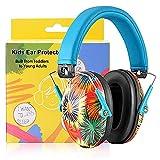 PROHEAR 032 Bunt Gehörschutz Kinder, Lärmschutz Kopfhörer für Schule, Feuerwerk, Flugshows mit SNR 29dB Hörschutz, von 1 bis 18 Jahren (blau)