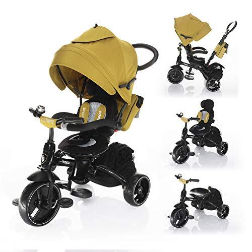 Zopa Kinderdreirad Citi Trike - Dreirad (Curry Yellow)