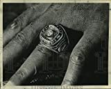 Vintage Photos 1973 Charles Leigh Shows Off Miami Dolphins Super Bowl Ring