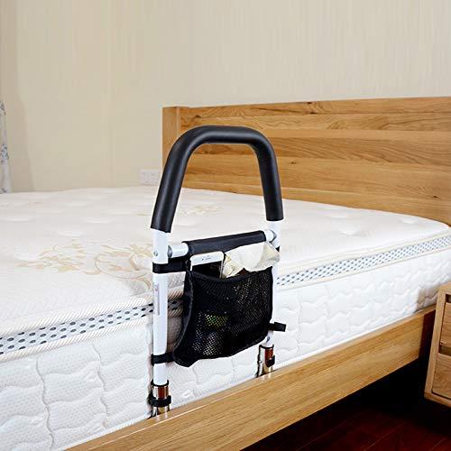 TTLIFE Rotaie per letto per anziani Alzata per adulti Dispositivo di protezione per sponde del letto per adulti Corrimano per letto per adulti regolabile in altezza Parapetto completo