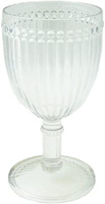 Le Cadeaux Poly Milano Wine Glass, Clear