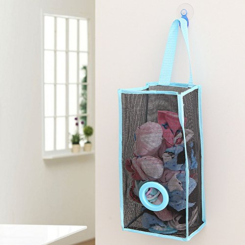 freeas bolsas de plástico de montaje en pared soporte para colgar bolsa...