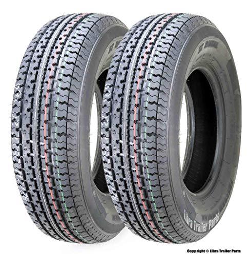 2 New Freedom Hauler Premium Trailer Tires ST 175/80R13 8PR Load Range D - 11012 …