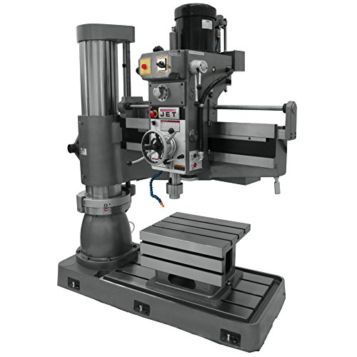 Check Out This JET J-1230R-4 5-Horsepower 460-Volt Radial Drill Press