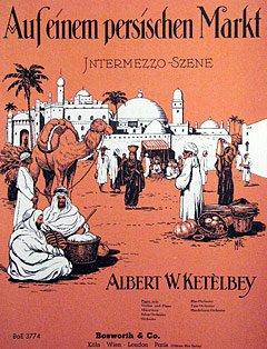 AUF EINEM PERSISCHEN MARKT - arrangiert für Klavier [Noten / Sheetmusic] Komponist: KETELBEY ALBERT WILLIAM