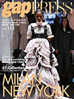 2020-2021 A/W gap PRESS vol.153 MILAN&NEW YORK (gap PRESS Collections)