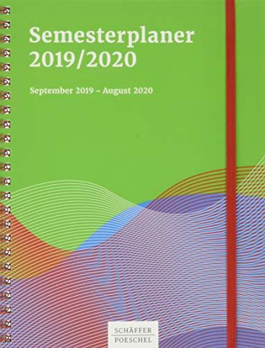 Semesterplaner 2019/2020: September 2020 - August 2021
