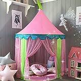 Kinderzelt Prinzessin Spielzelt für Mädchen - Glitzer Castle Kinderzimmer mit Tragetasche -...