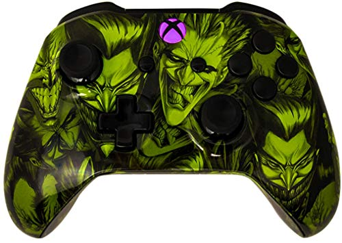 Glossy Joker 5000+ Modded Controller for Microsoft Xbox One - Custom Design that Works on All Shooter Games