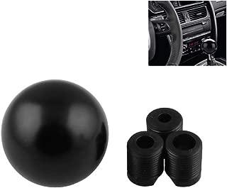yeehao 6 Gear Shift Knob Leather Hood for Alfa Romeo 159 Brera Spider,Black 05-11