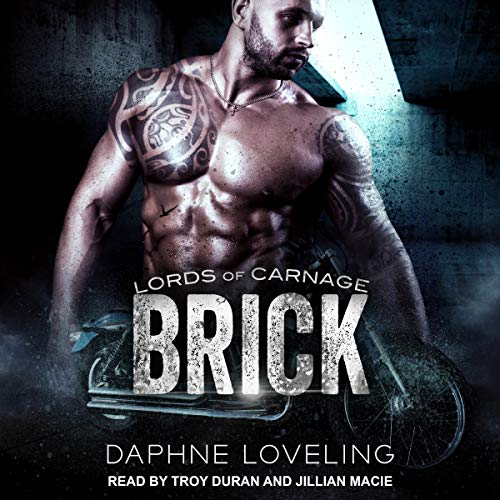 Brick audiobook cover art