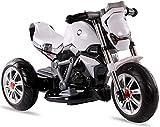 FEE-ZC La sécurité des Enfants Monte sur la Moto, Moto de 3 Roues pour Les Enfants 2-7 Ans, Bicyclette de Moteur électrique de Tricycle avec Les phares et la Musique, Batterie 6V, 3KM/H
