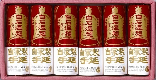 NT-6 手延べ白石温麺6束入(ギフトタイプ)