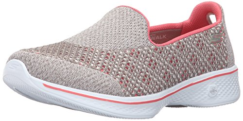 Skechers Skechers Damen Go Walk 4-Kindle Sneakers, Beige Tpcl, 36 EU