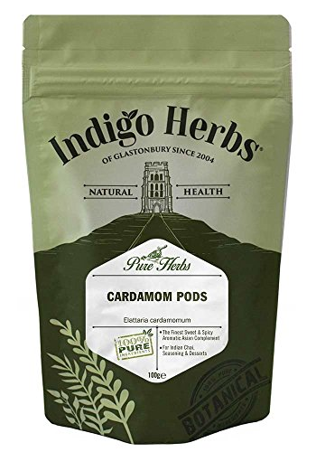 Indigo Herbs Baccelli di Cardamomo 100g