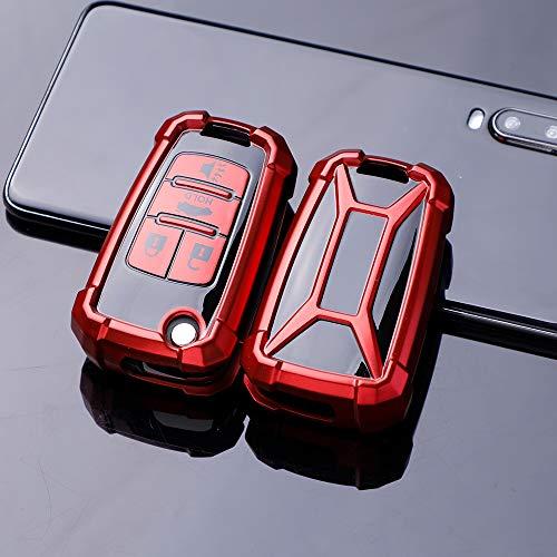 Funda para llave de coche de ontto con tapa para Chevrolet Camaro Cruze Equinox Impala Malibu Sonic