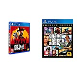Red dead redemption 2 (ps4) + grand theft auto v - premium edition