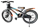 Hero Cycles Boy's and Girl's Whistle 20T Sporty Freeride Bike Cycle (Orange, Age 7 to 11 Years)