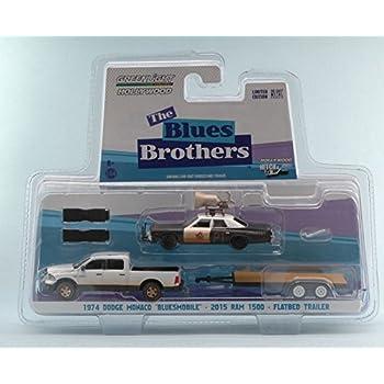 Dodge monaco bluesmobile 1974 blues brothers horn on roof 1980 1:43 movie scala