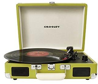 Crosley Radio Cruiser Portable Turntable, Green (B00990Z13S) | Amazon price tracker / tracking, Amazon price history charts, Amazon price watches, Amazon price drop alerts