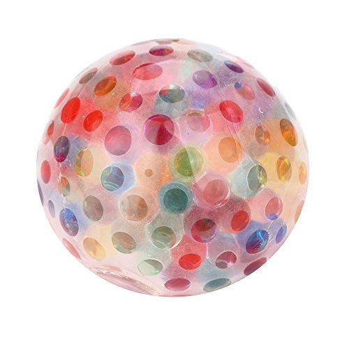 Inco Squeezable Stress AToy Schwammiger Regenbogenball Toy Relief Ball Zum Spaß