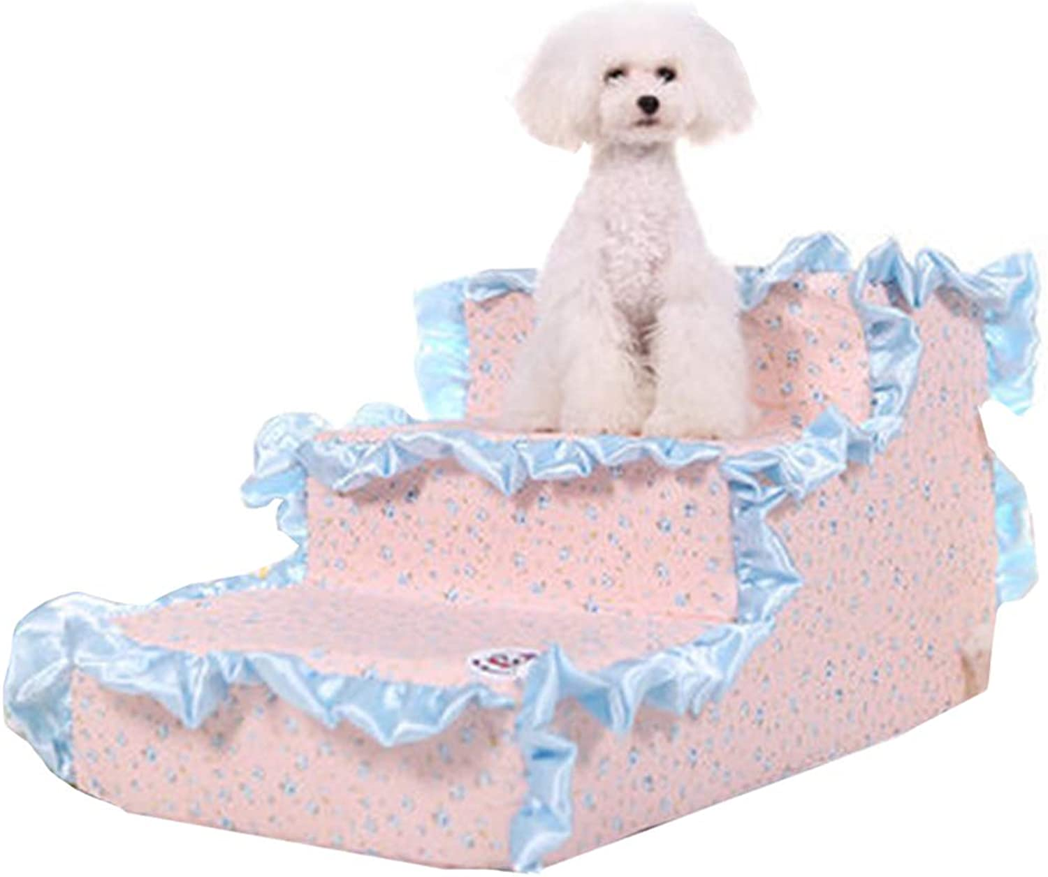 Pet Portable Pet Stairs by Products for Cats and Dogs Comfortable Stairs Steps for Small Cats Up to 45 lbs (color   Style2)